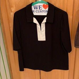 Great black shirt with zipper